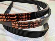 Ремень приводной для бетономешалки Limex,  Euromix. 6 PJ 660. Доставка